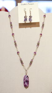 purple linda's jewelry